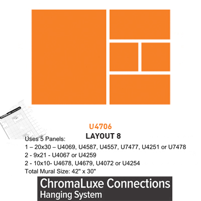 ChromaLuxe Connections Layout #8 - 5 Templates