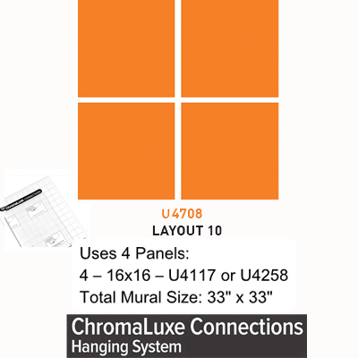 ChromaLuxe Connections Layout #10 - 5 Templates
