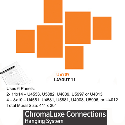 ChromaLuxe Connections Layout #11 - 5 Templates