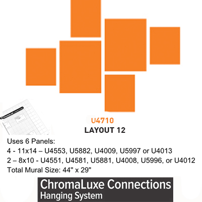 ChromaLuxe Connections Layout #12 - 5 Templates