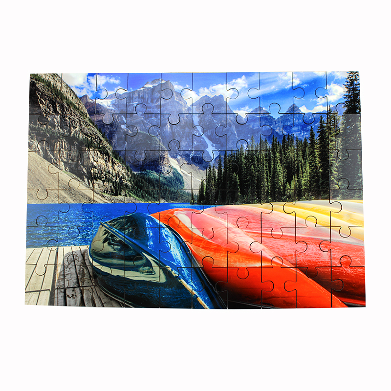 60 Piece Unisub® Sublimation Jigsaw Puzzles - 6.88