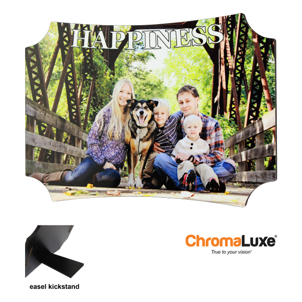 5x7 Berlin Hardboard Photo Panel - Gloss White