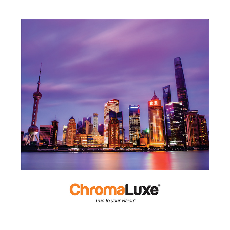 ChromaLuxe Sublimation Blank Exterior Aluminum Photo Panel - 8