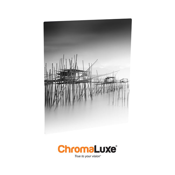 Chromaluxe Sublimation Blank EXT Life Aluminum Photo Panel - 6x12- Gloss Clear
