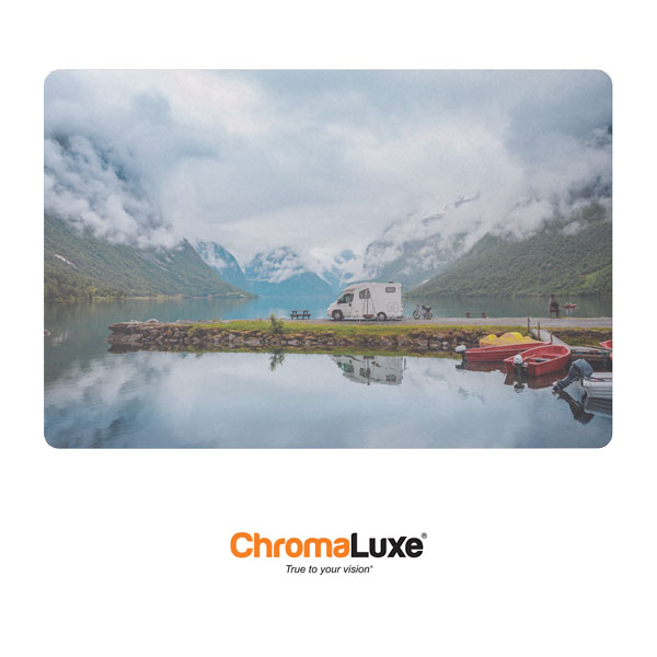 Chromaluxe Sublimation Blank EXT Life Aluminum Photo Panel - 20 x 30- Gloss Clear