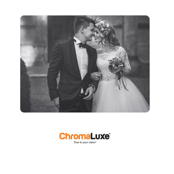 Chromaluxe Sublimation Blank EXT Life Aluminum Photo Panel - 30 x 40- Gloss Clear