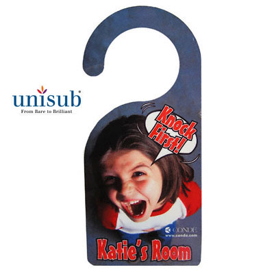 Unisub Sublimation Blank FRP Door Hanger - 4