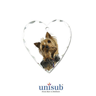 Unisub Sublimation Blank Jewelry Charm - .875