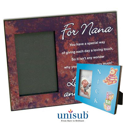 8x10 Unisub MDF Picture Frame with Attached Easel