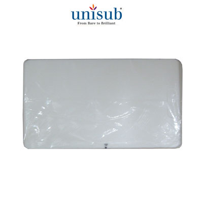 Unisub™ Business Card Plastic Overlay for U5655