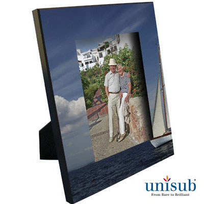 8x10 Unisub MDF Picture Frame w/Attached Easel