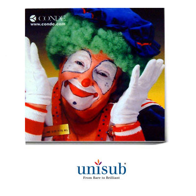 Unisub Sublimation Blank Hardboard Tile - 12