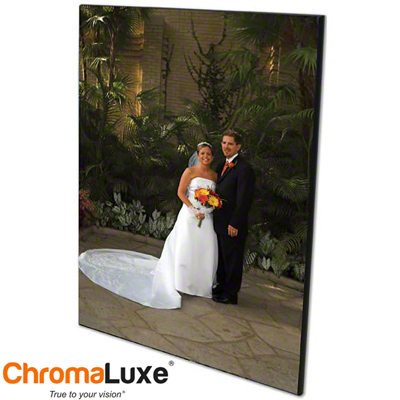 ChromaLuxe Sublimation Blank MDF Photo Panel - 11 x 14 - Chamfer Edge - Gloss White