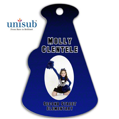 Unisub Sublimation Blank FRP Bag Tag - 2.67