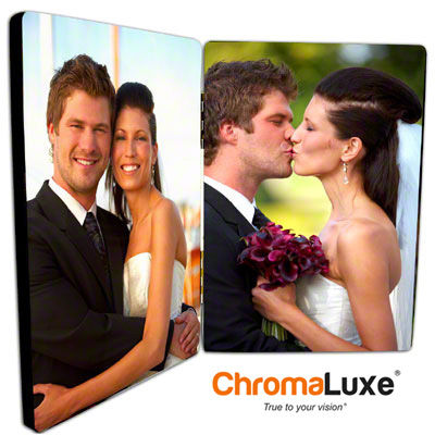 ChromaLuxe™ 3.5 Double Hinged Photo Panel