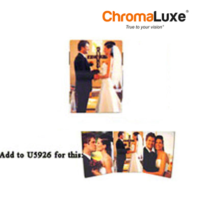 ChromaLuxe™ 3.5 Hinged Hardboard Photo Panel