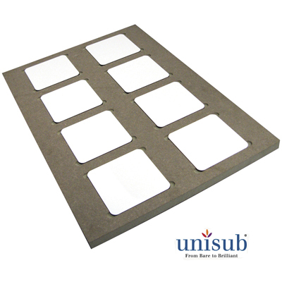 Unisub Sublimation Production Jig - for U5677 - Square Coasters