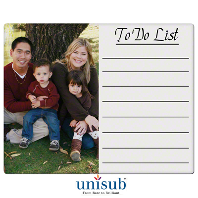 11x14 Unisub White Gloss Steel Dry Erase Board