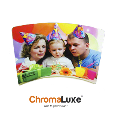 ChromaLuxe Sublimation Blank Aluminum Photo Panel - 8