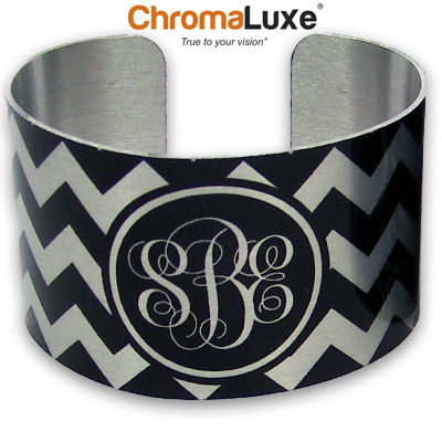Chromaluxe Sublimation Blank Cuff Bracelet - Large - Clear Gloss