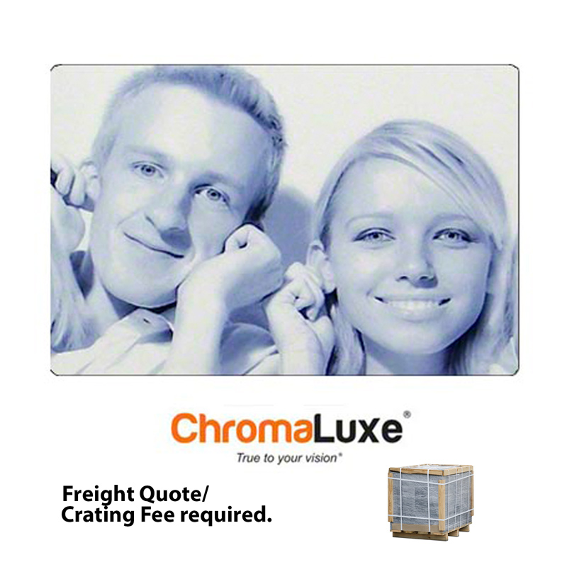 16x24 ChromaLuxe Aluminum Photo Panel -Clear Matte