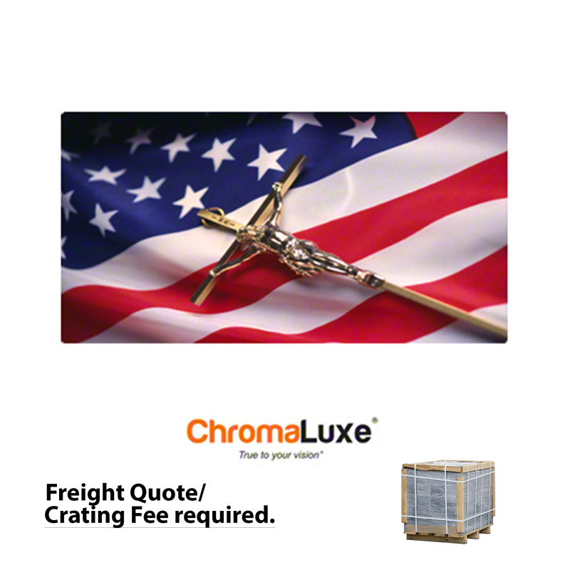 16x32 ChromaLuxe™ Matte White Aluminum Photo Panel