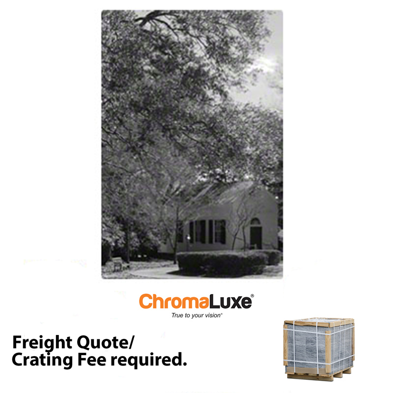 24x36 ChromaLuxe™ Matte Clear Aluminum Photo Panel