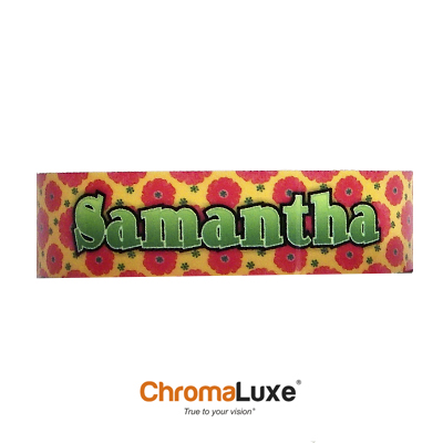 Chromaluxe Sublimation Blank Cuff Bracelet - Medium - Clear Gloss