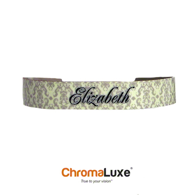 Chromaluxe Sublimation Blank Cuff Bracelet - Small - White Gloss