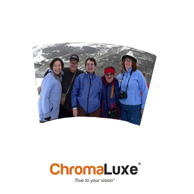 ChromaLuxe Sublimation Blank Aluminum Photo Panel - 6