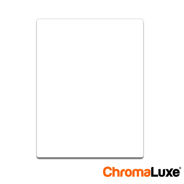8.5x11 ChromaLuxe Photo Panel - Gloss White