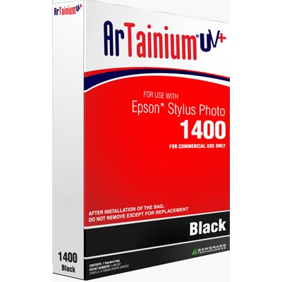 ArTainium 110ml Black Ink Bag