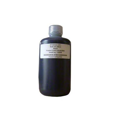 ArTainium Black Bulk Ink Bottle 250ml