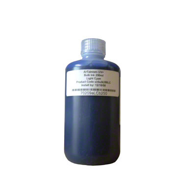 ArTainium Light Cyan Bulk Ink Bottle 250ml