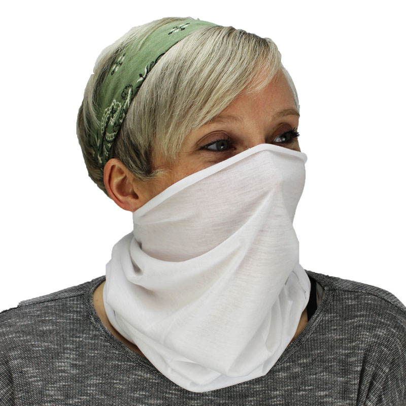 Vapor® Sublimation Blank Neck Gaiter - 19.5 x 9.75""