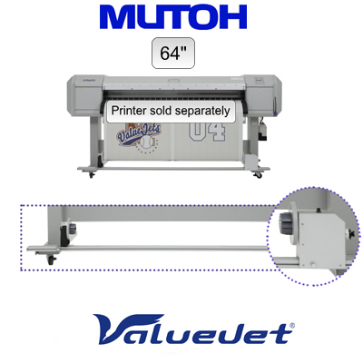 "64"" Mutoh® ValueJet™ Standard Take-up System"