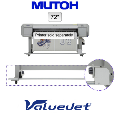 "72"" Mutoh® ValueJet™ Standard Take-up System"