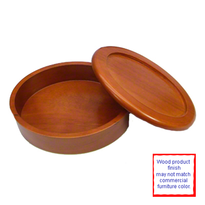 Oval Cherry Wooden Box