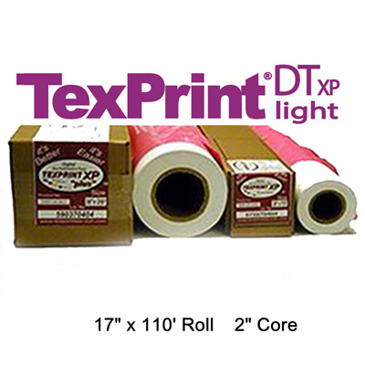 TexPrint XP HR Sublimation Transfer Paper - 17 x 110' Roll