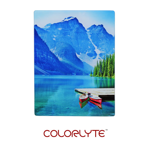 5x7 ColorLyte Photo Glass Panel - Flat - Frosted