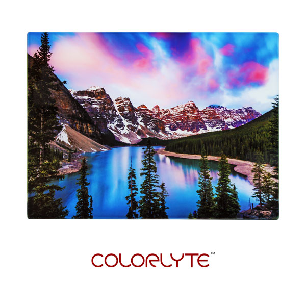 11x14 ColorLyte Photo Glass Panel - Flat - Frosted