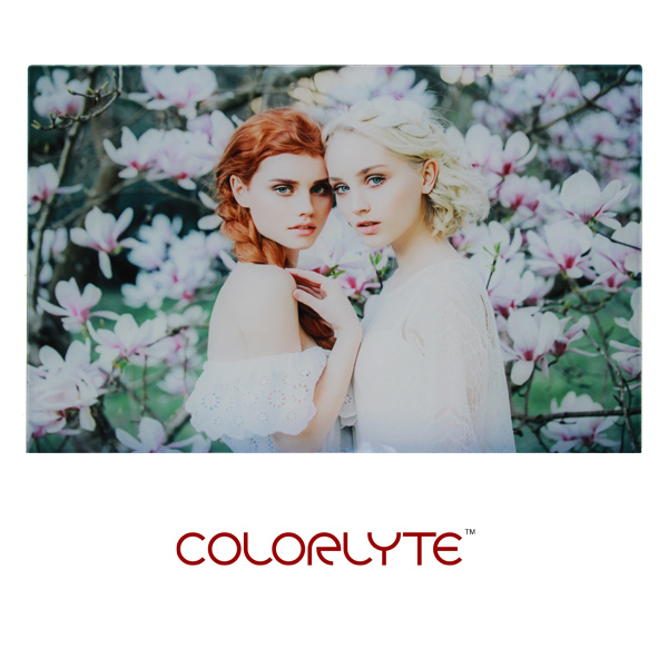 12x18 ColorLyte Photo Glass Panel - Flat - Frosted