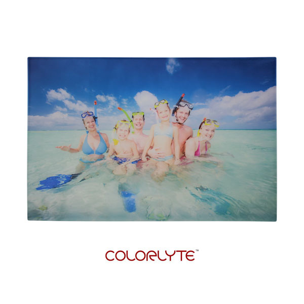 16x24 ColorLyte Photo Glass Panel - Flat - Frosted