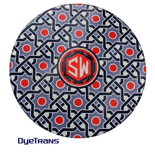 Sublimation 12 Large Round Glass Cutting Board