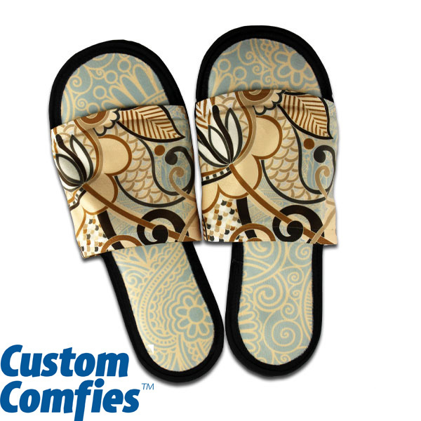 DyeTrans Custom Comfies House Slippers Medium