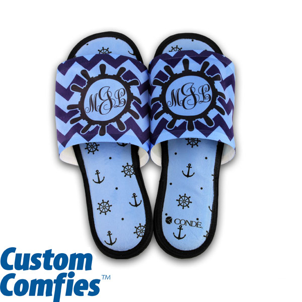 DyeTrans Custom Comfies House Slippers Small